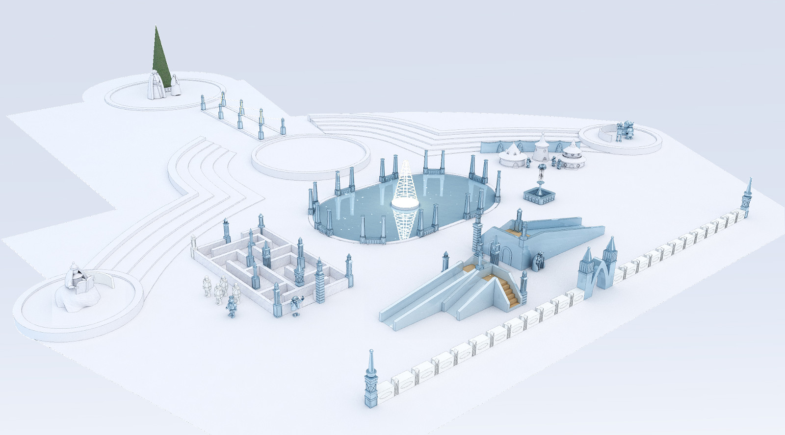 Позиция Главы (по строительству новогоднего городка)