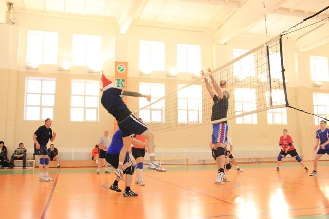 Любительский турнир по волейболу
