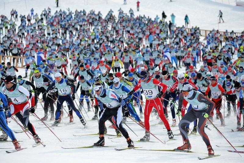 ХХХVI Всероссийский лыжный марафон «Азия-Европа-Азия»