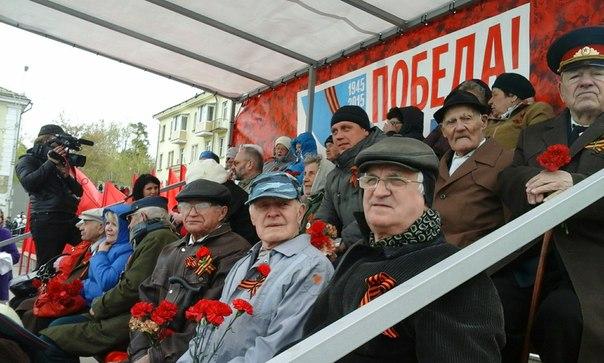 Новоуральск. Празднование Дня Великой Победы (фото)