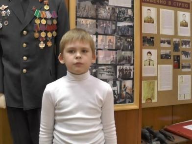 Юный чтец из Новоуральска борется за победу