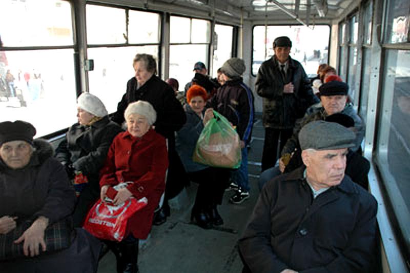 Бесплатный проезд для пенсионеров