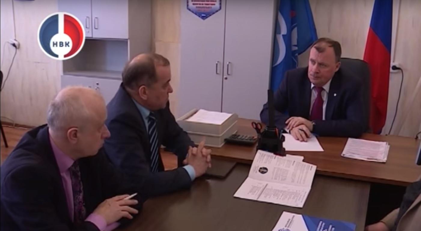 Новоуральск посетил министр инвестиций и развития региона Алексей Орлов