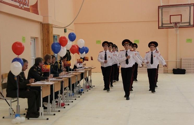 В Свердловской области прошел слет кадетов  Подробнее на ТАСС