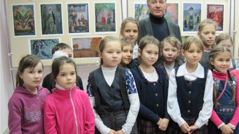 Юные художники приняли участие в проекте