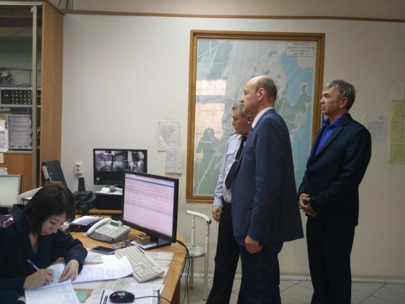 В Новоуральске с рабочим визитом побывал Общественный совет при Областном полицейском Главке