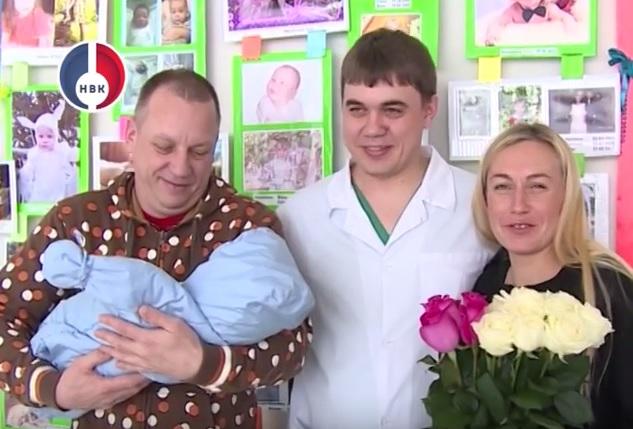 В Новоуральском родильном доме появился на свет 70-тысячный малыш!
