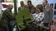 Солдатские матери и ветераны боевых действий Новоуральска обзавелись пулемётом!