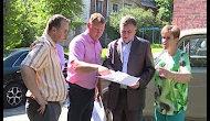Строительный объезд с Главой НГО