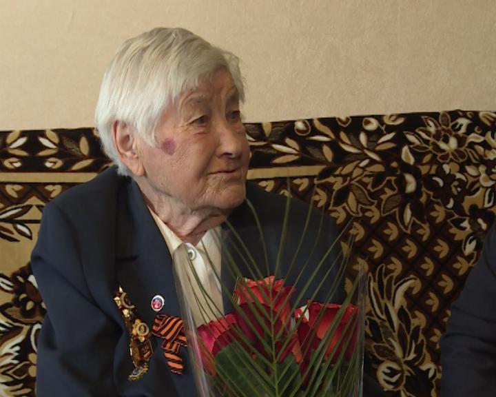Лидия Петровна Ханжина, ветеран Великой Отечественной Войны, отметила 95-летний юбилей