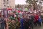Парад Победы на аллее Боевой Славы