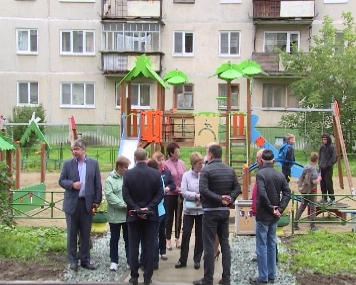 КГС в Новоуральске:реконструкция ЦПКиО и благоустройство дворов