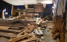Началась реконструкция центрального зрительного зала кинотеатра «Нейва»