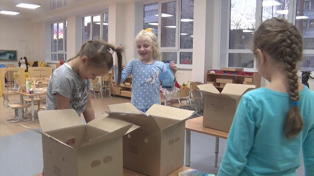Новоуральские дошколята - благотворители!
