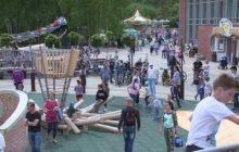 В Новоуральске душевно и весело отметили День России