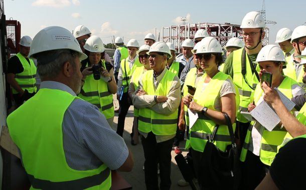 Технический тур Новоуральской общественности на площадку строительства подземной исследовательской лаборатории в Железногорск Красноярского края