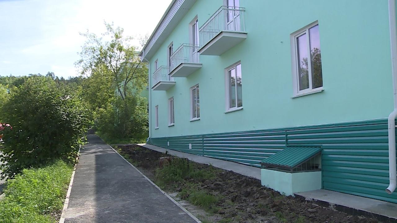 Дом отремонтирован и комиссией принят