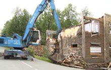 Ветхие дома уходят в историю