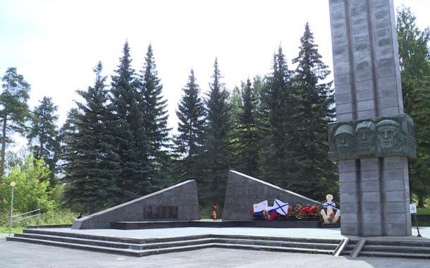 Реконструкция в канун 75-летия Великой Победы