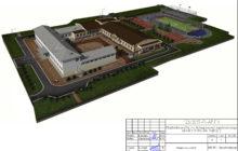 Новый корпус школы в деревне Починок НГО