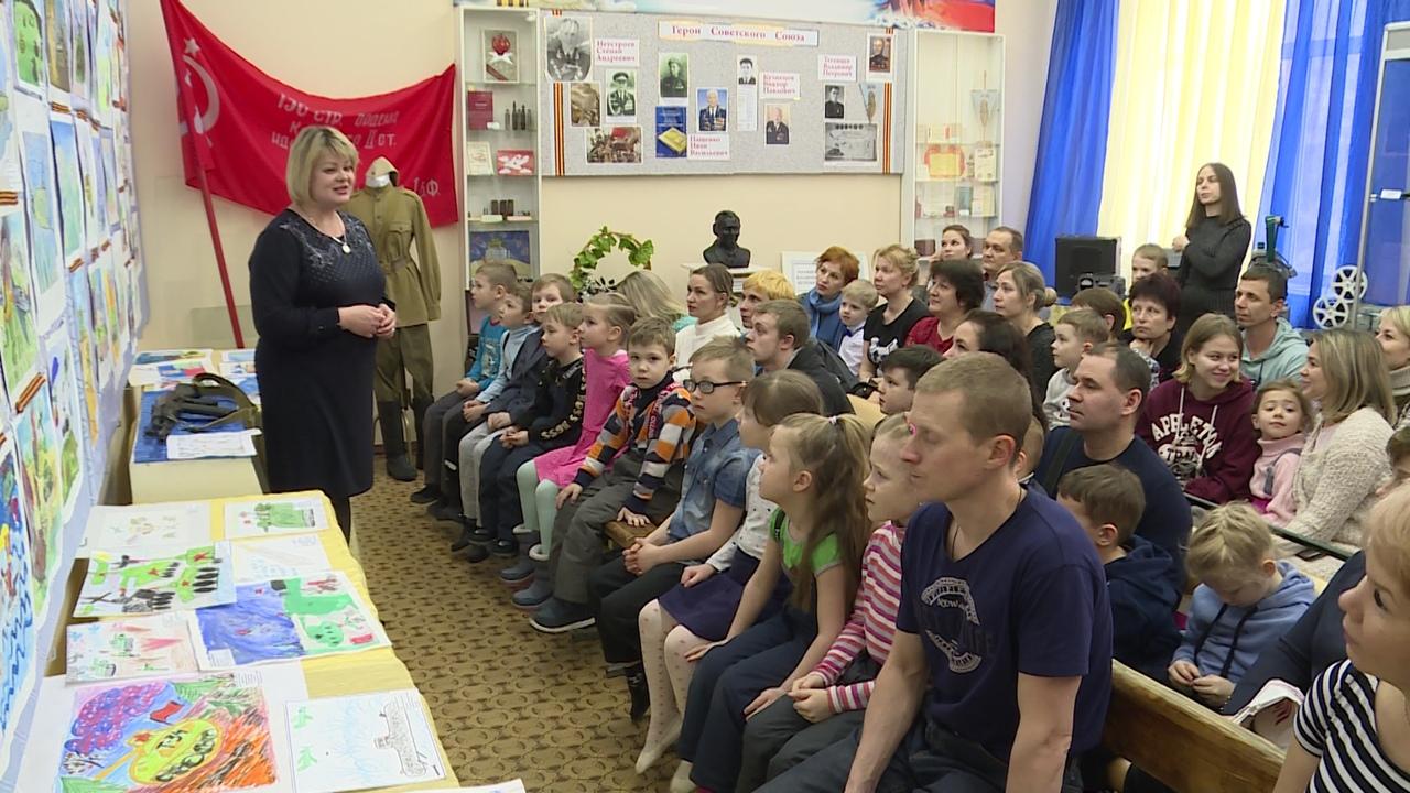 Новоуральские дошколята погружаются в историю Великой Отечественной войны