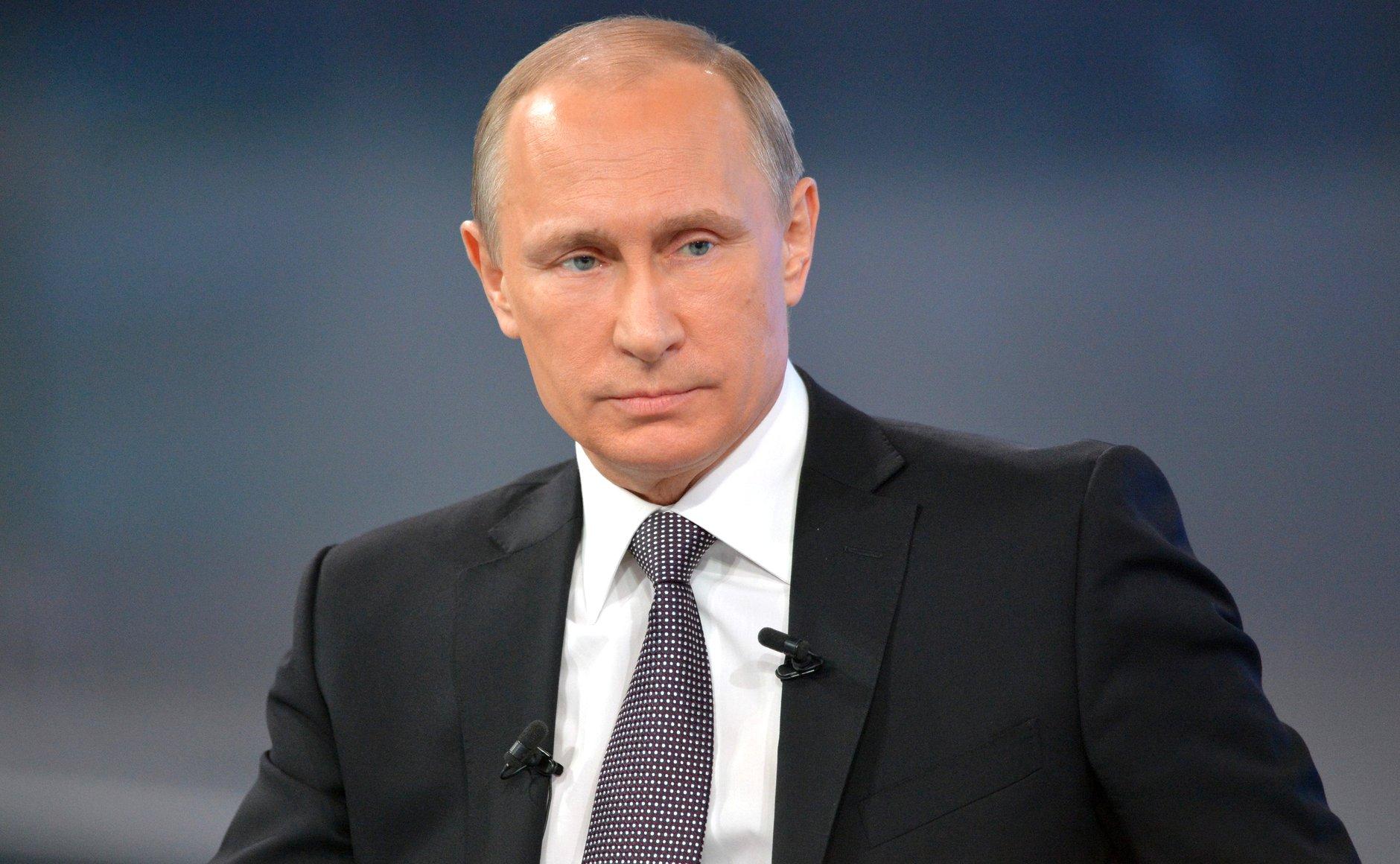 Полный текст обращения Президента РФ Владимира Путина к россиянам