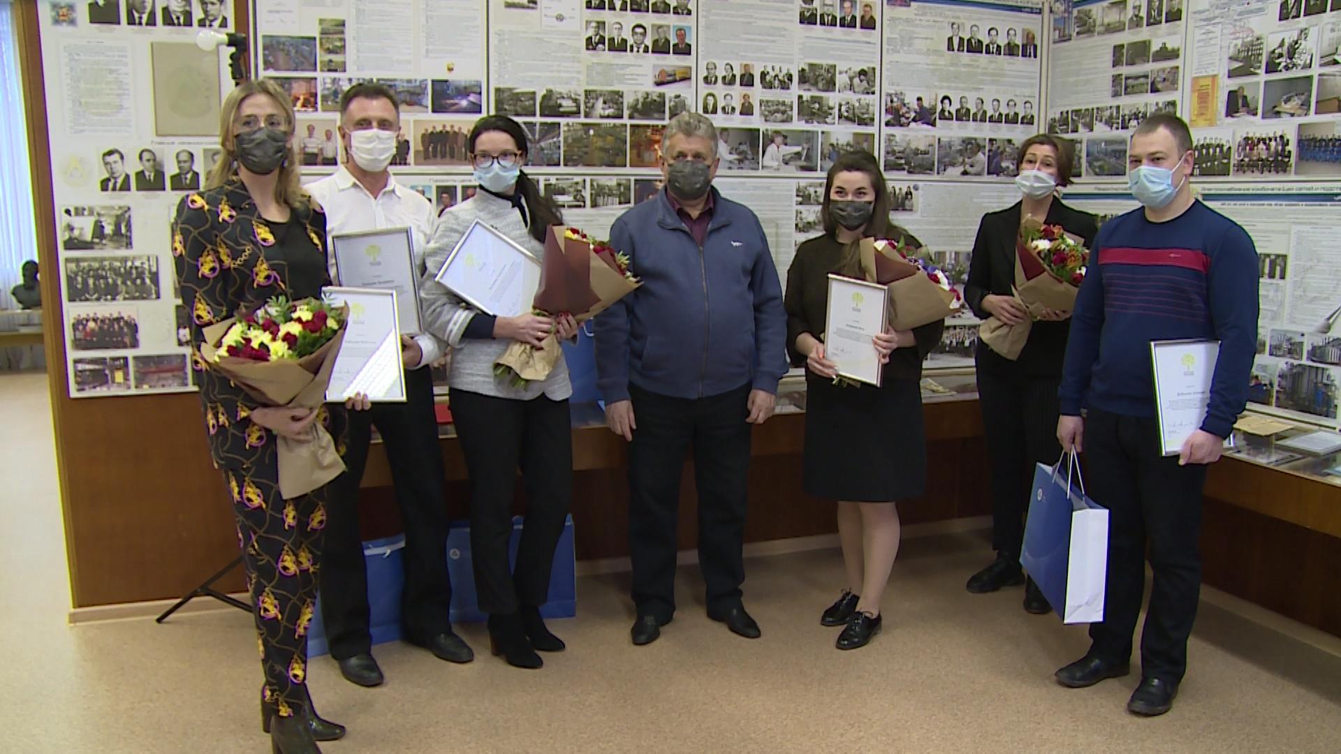 Волонтеры Росатома получили заслуженные награды