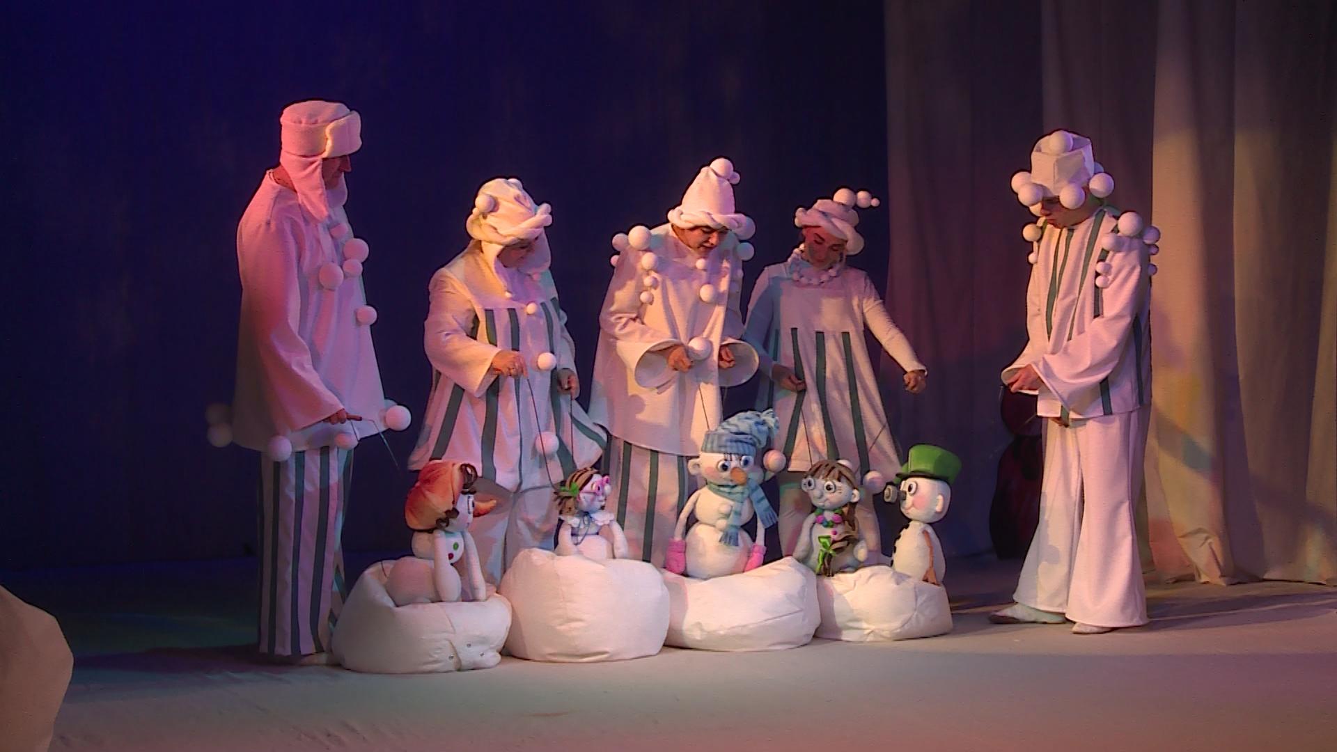 «Школа снеговиков» в театре кукол «Сказ»