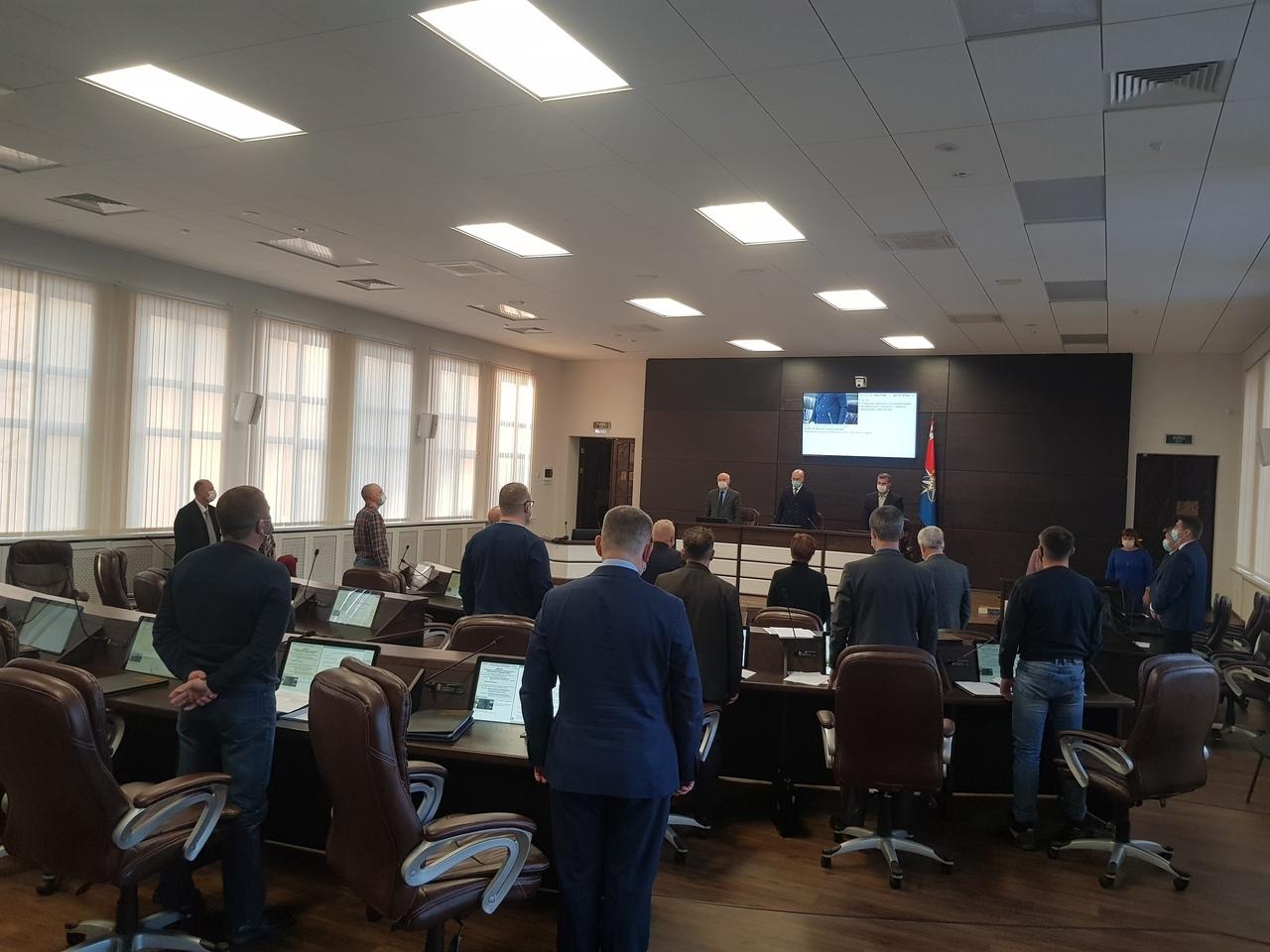 Бюджет НГО на 2021 год принят в первом чтении и обращение депутатов к надзорным органам по полигону «Утилис»