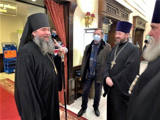 Новый глава Екатеринбургской митрополии владыка Евгений прибыл в Екатеринбург