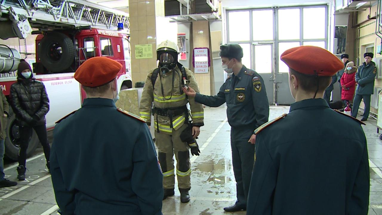 Пожарные по призванию