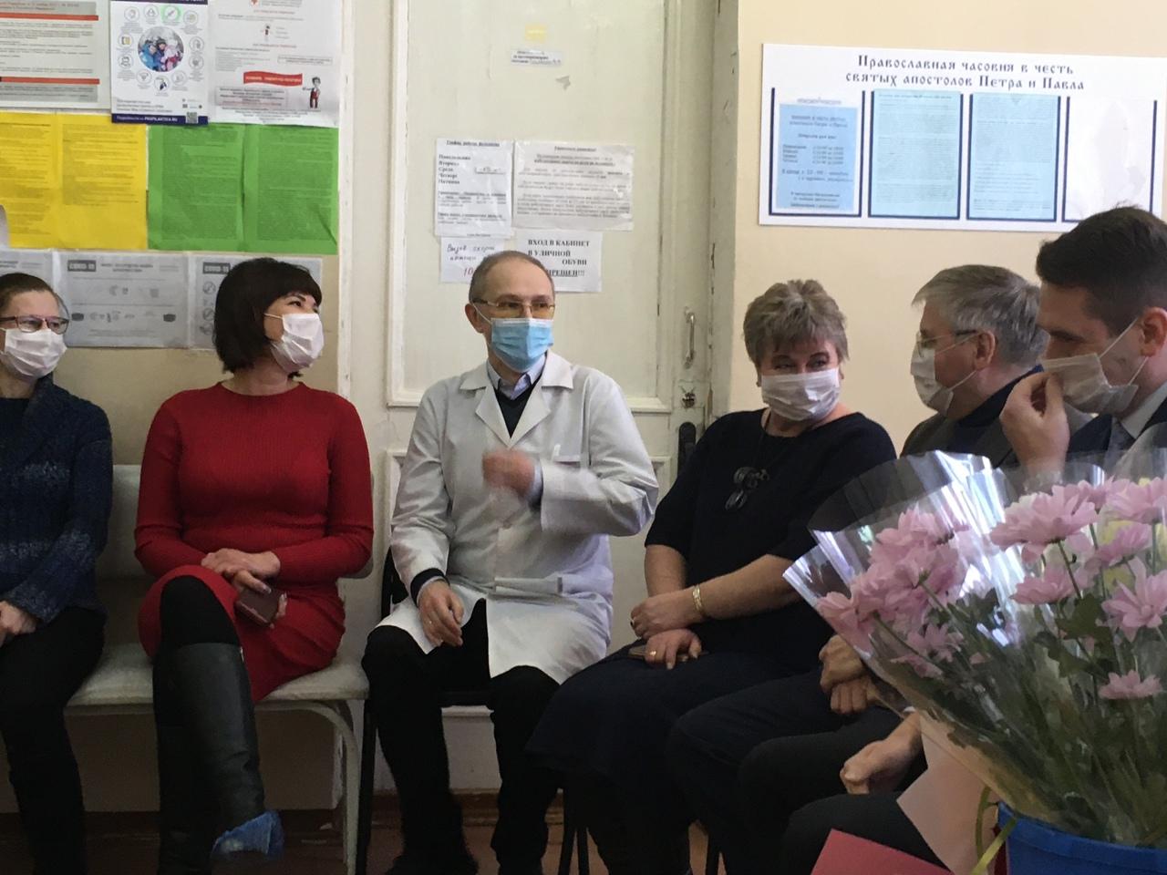 Врачебной амбулатории деревни Починок - 60 лет