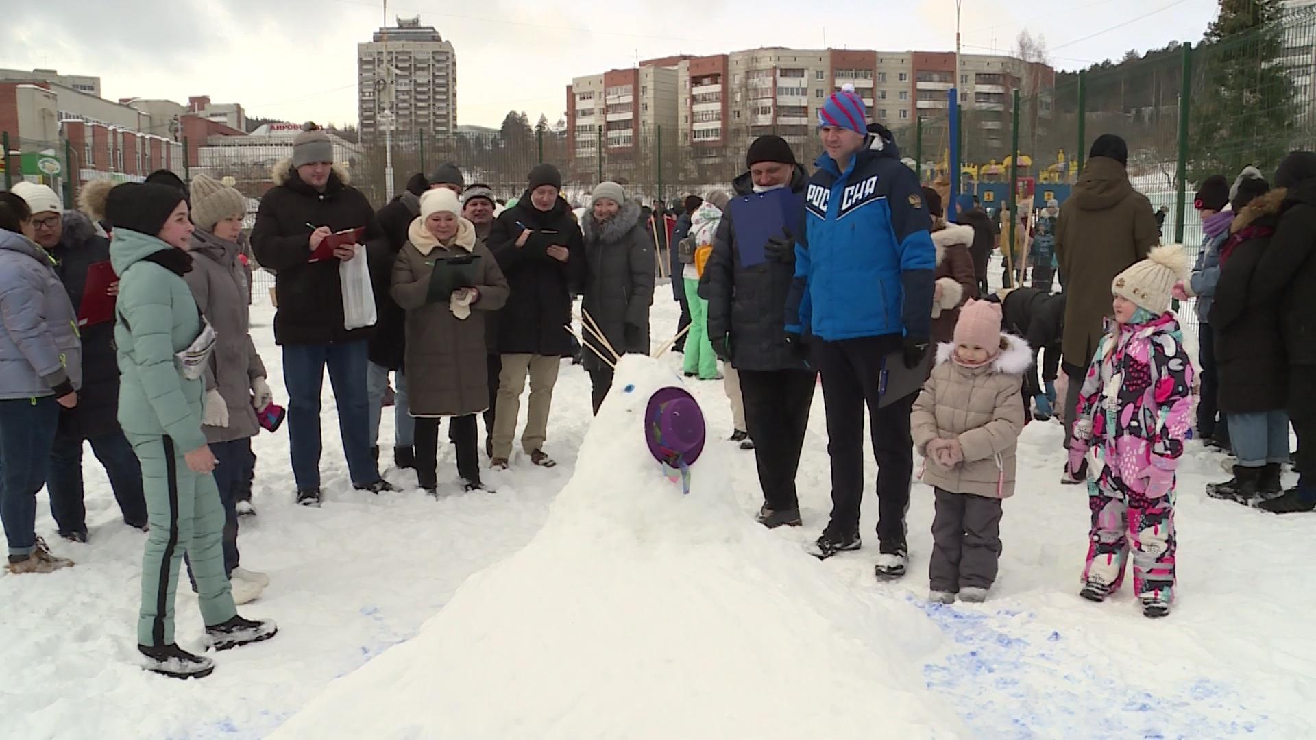 Новоуральская битва снеговиков