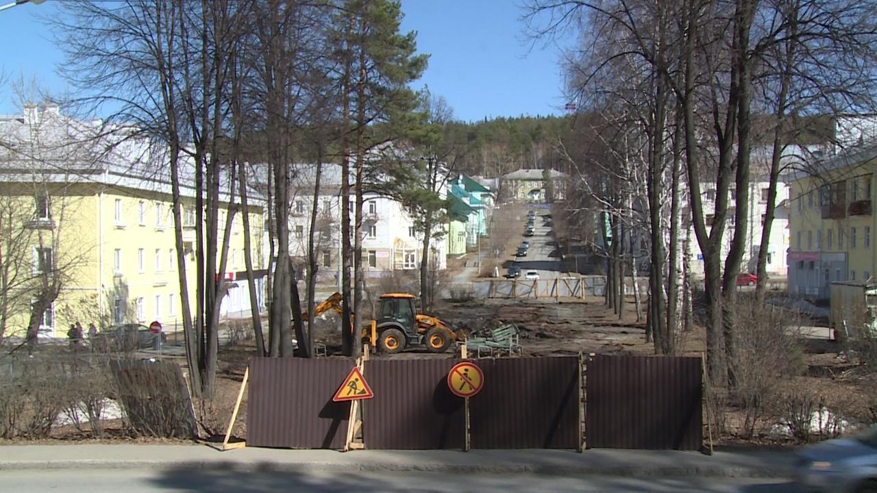 Реконструкция Сквера Белинского идет полным ходом. Открытие объекта запланировано на конец июня