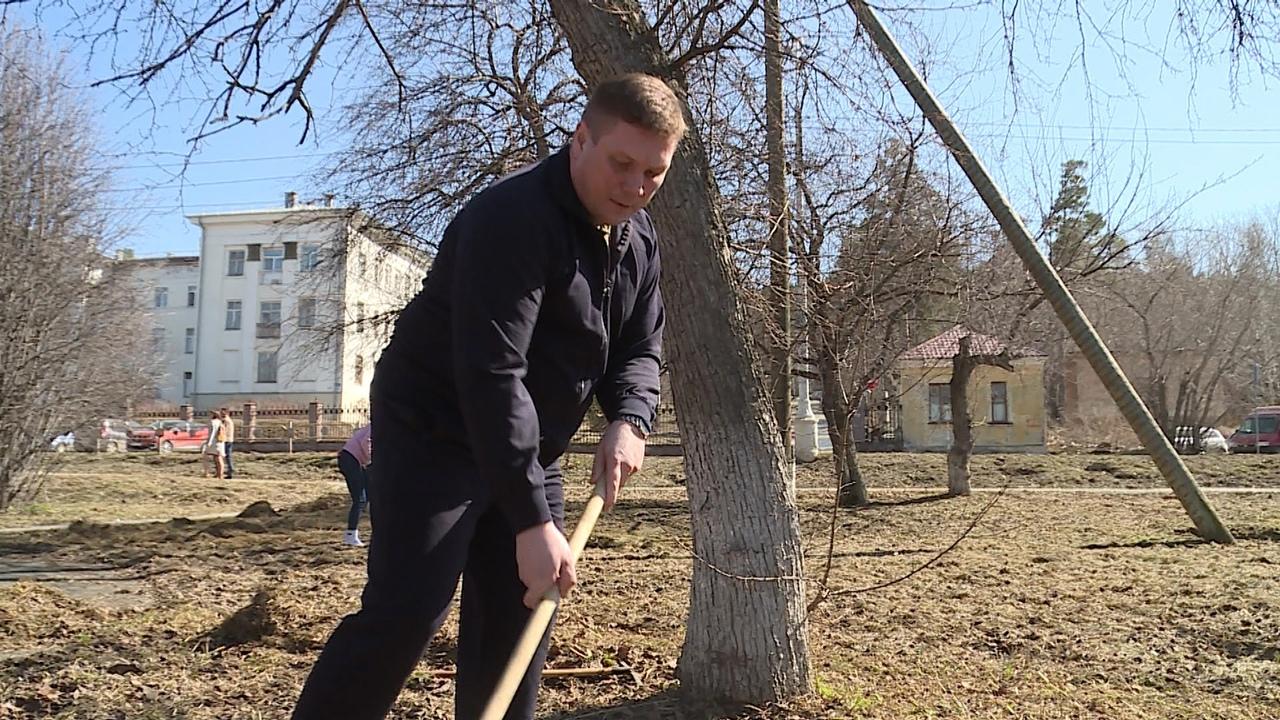 В Новоуральске стартовал марафон чистоты