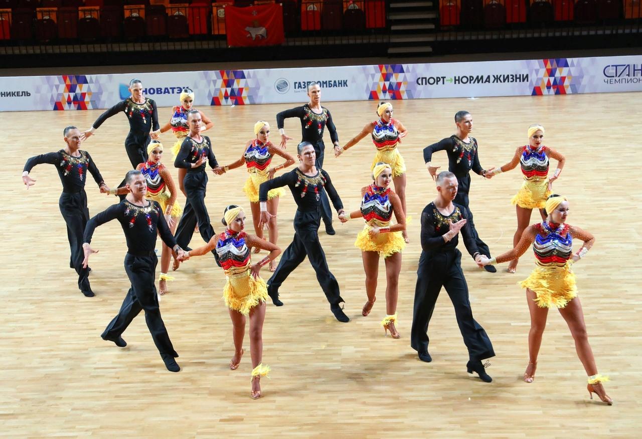 Межрегиональный конкурс ансамблей бальных танцев