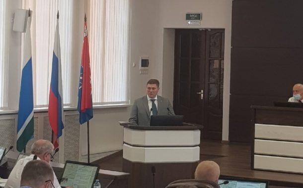 Вячеслав Тюменцев вступил в должность Главы НГО