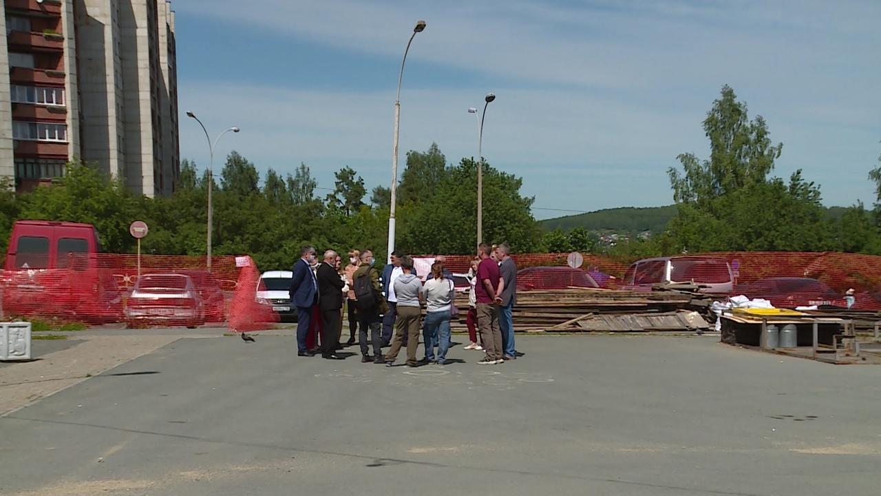 Программа «Комфортная городская среда» – в действии. В Новоуральске идет благоустройство общественных территорий