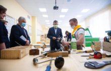 Евгений Куйвашев проверил, довольны ли дети и родители работой школьных лагерей в летние каникул