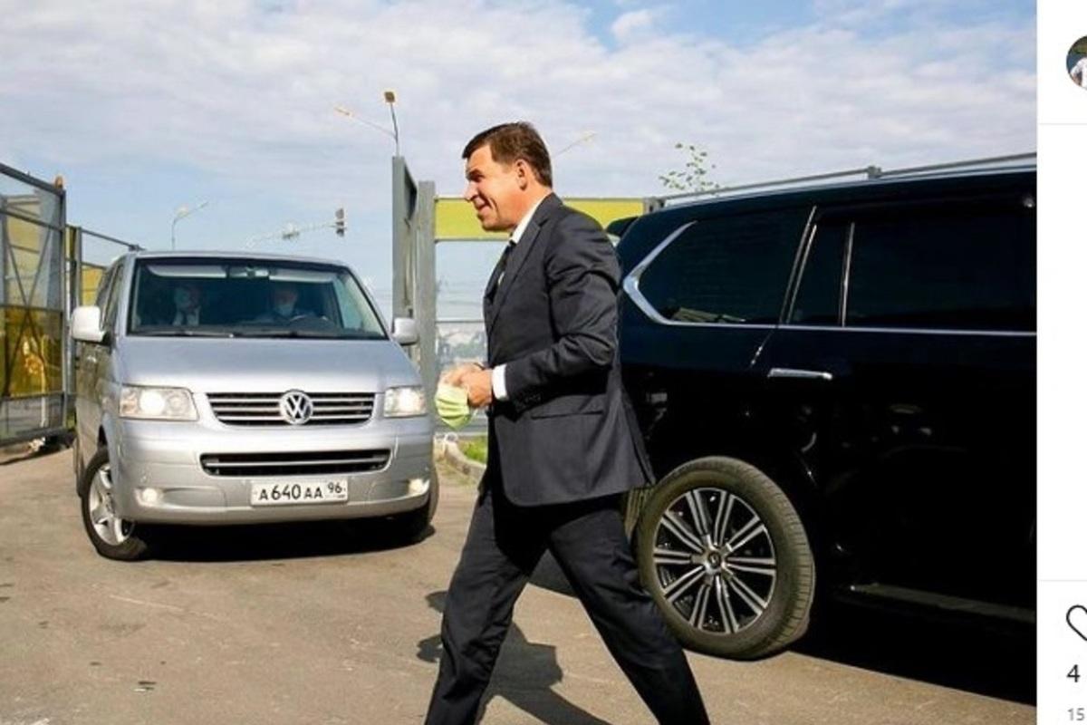 Губернатор Евгений Куйвашев попросил мэров отдать автомобили администраций врачам, работающим с больными коронавирусом