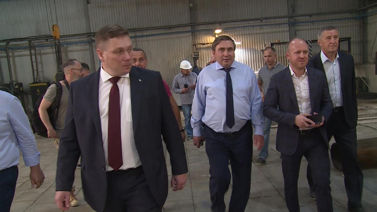 Министр ЖКХ в Новоуральске