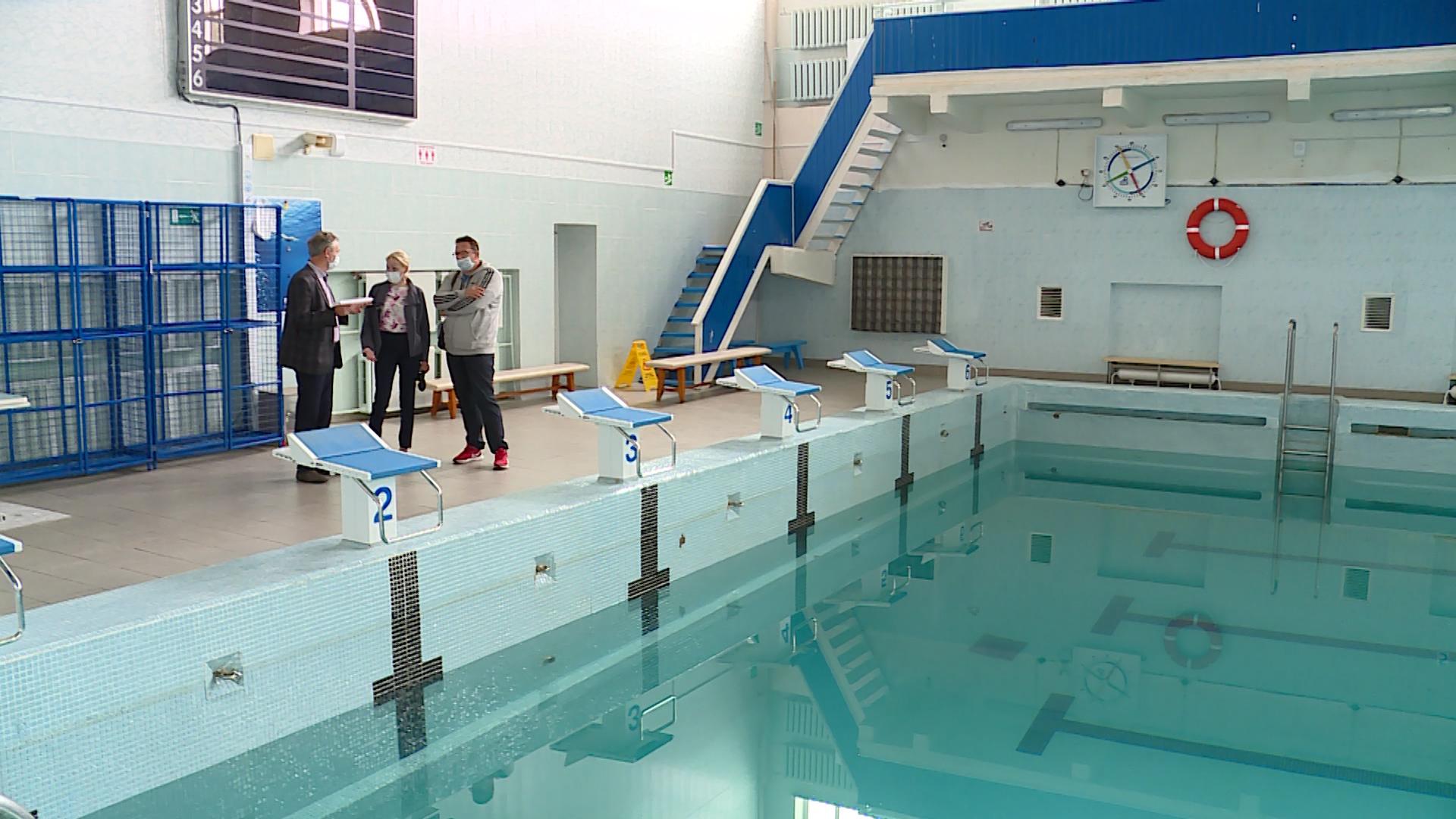 Во дворце спорта «Дельфин» завершаются ремонтные работы