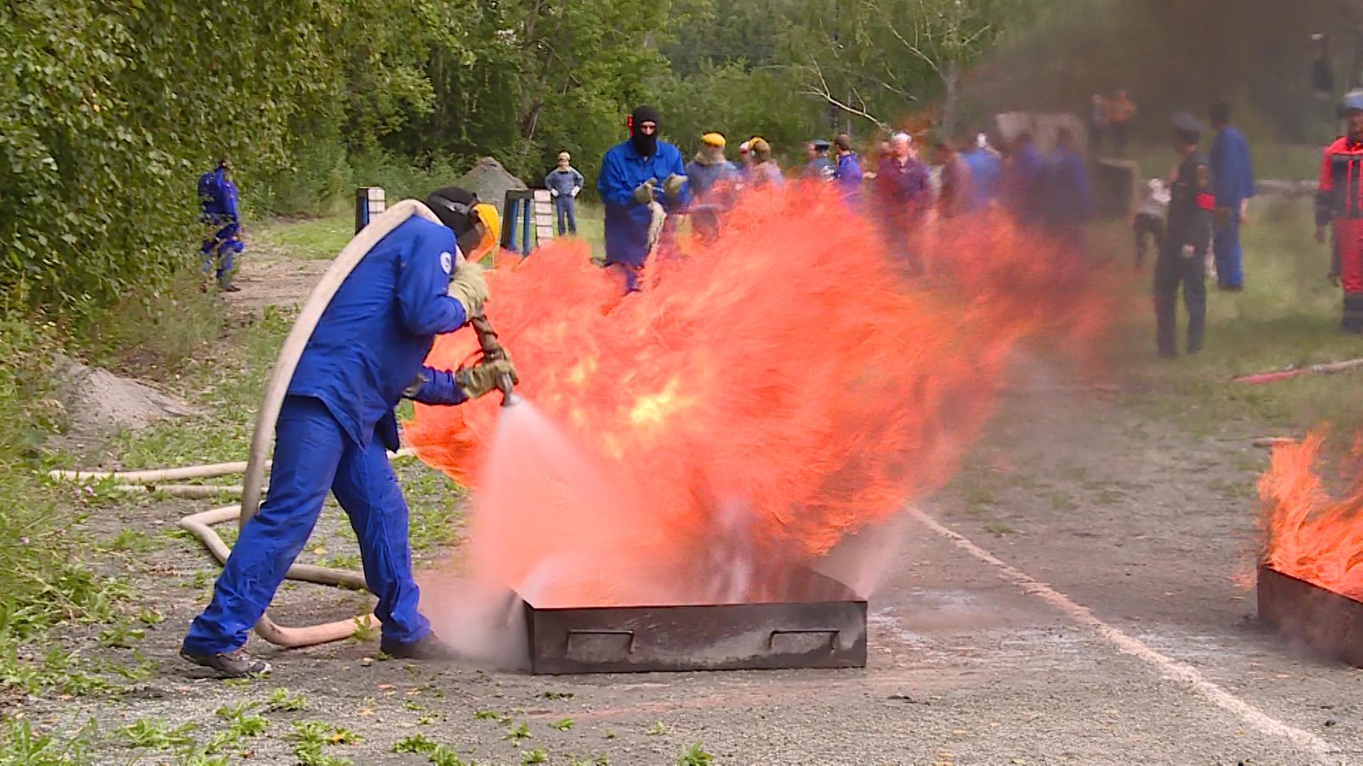 Ежегодный смотр добровольных пожарных дружин
