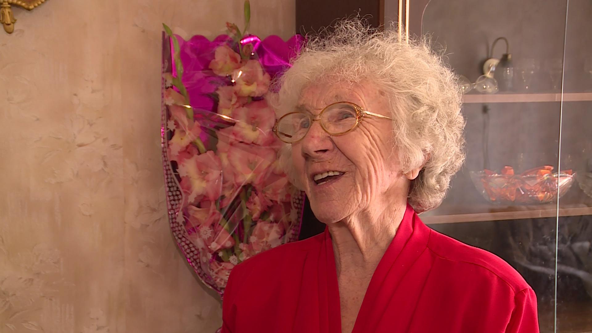Своё 90-летие отметила Ольга Осиповна Крук