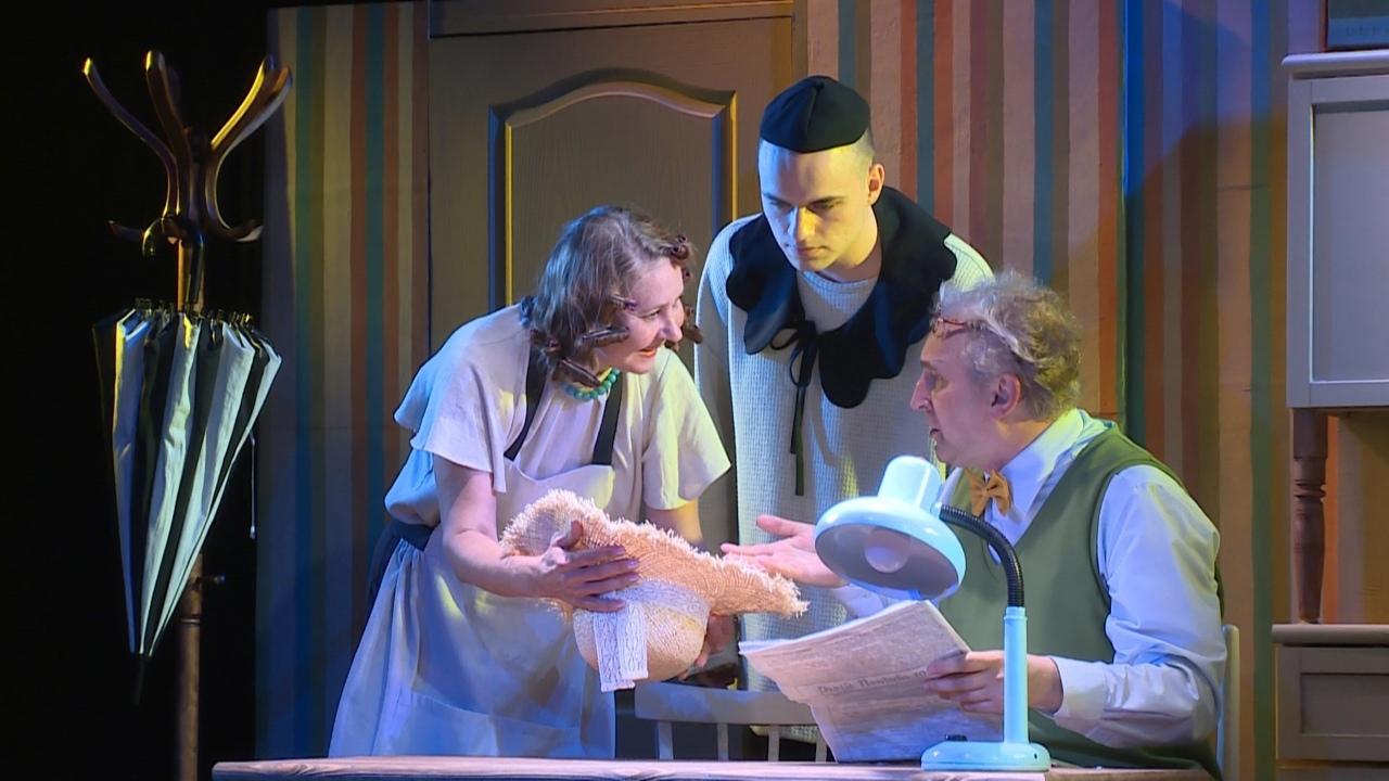 64-й театральный сезон театр кукол «Сказ» завершил генеральной репетицией спектакля «Дрозд фрау Майер»