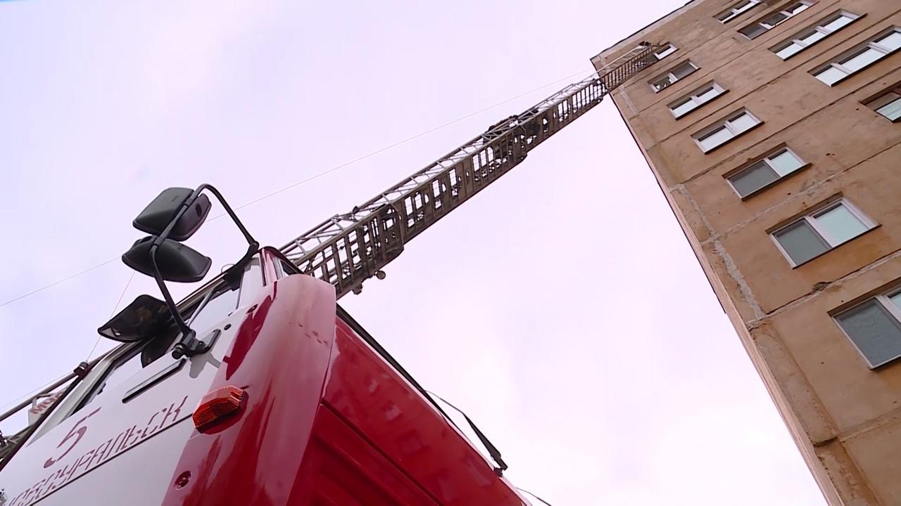 Учения пожарных