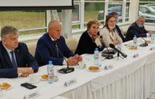 Президент ТК ТВЭЛ Наталья Никипелова в Новоуральске